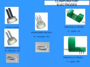 elettrodi che si utilizzano per ottenere l'effetto terapeutico mediante elettrochemioterapia